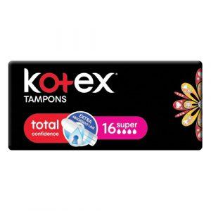 Kotex Tampons Super