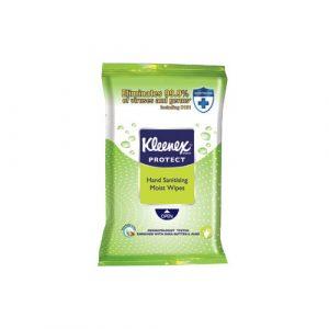 Kleenex Protect Wipes Hand Sanitising