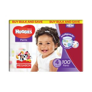 Huggies Nappy Pants - Mega Pack Size 4
