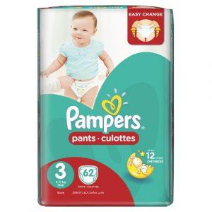 Pampers Pants S3 (2 packs of 62)