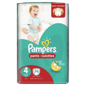 Pampers Pants S4 (2 packs of 56)