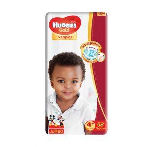 Huggies Gold - Jumbo Pack Size 4+