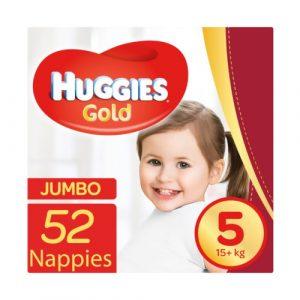 Huggies Gold - Jumbo Pack Size 5