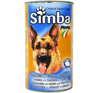 Simba Monge Dog Food - Chicken & Turkey (1.236kg)