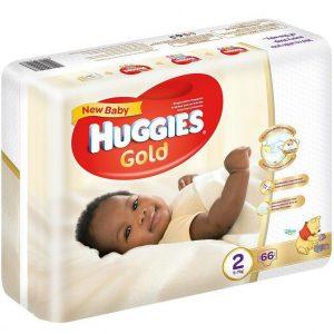Huggies Gold - New born diapers 2