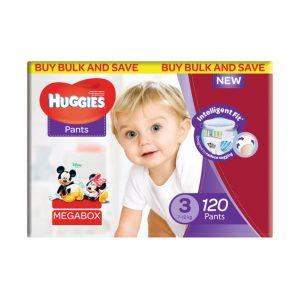 Huggies Nappy Pants - Mega Pack Size 3