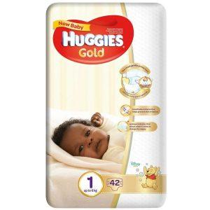 Huggies Gold - New born diapers 1