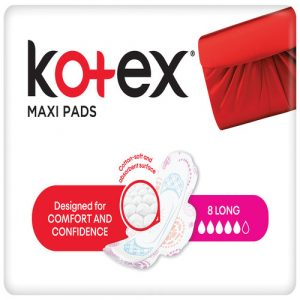 Kotex Maxi Pads Super + Wings
