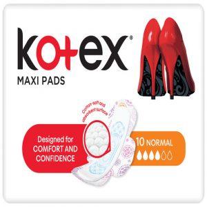 Kotex Maxi Pads Normal + Wings