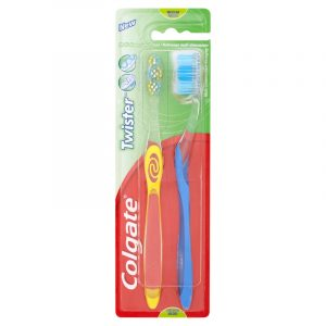 Colgate Toothbrush Twister Twin pack
