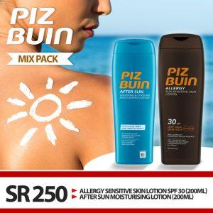 Piz Buin Mix Pack Sun Spray SPF 30 + AS Moisturising