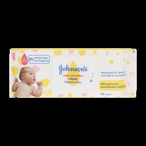 J&J Baby Wipes Fragrance Free
