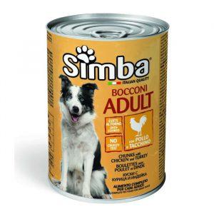 Simba Monge Dog Food Chicken Can (1.236kg)