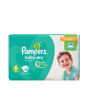Pampers Diapers S6